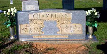 CHAMBLISS, LULA T - Ouachita County, Arkansas | LULA T CHAMBLISS - Arkansas Gravestone Photos