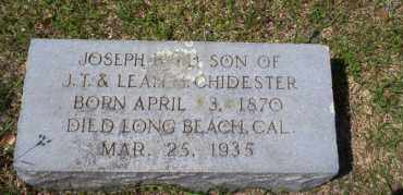 CHIDESTER, JOSEPH BYRD - Ouachita County, Arkansas | JOSEPH BYRD CHIDESTER - Arkansas Gravestone Photos