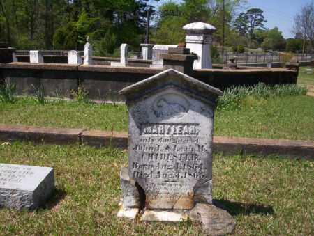 CHIDESTER, MARY LEAH - Ouachita County, Arkansas | MARY LEAH CHIDESTER - Arkansas Gravestone Photos