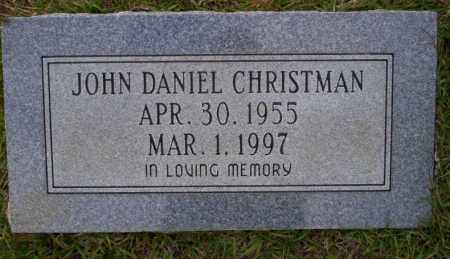 CHRISTMAN, JOHN DANIEL - Ouachita County, Arkansas | JOHN DANIEL CHRISTMAN - Arkansas Gravestone Photos