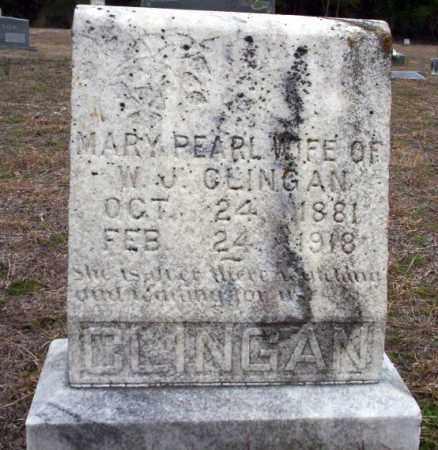 CLINGAN, MARY PEARL - Ouachita County, Arkansas | MARY PEARL CLINGAN - Arkansas Gravestone Photos