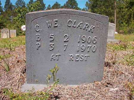 CLARK, C W E - Ouachita County, Arkansas | C W E CLARK - Arkansas Gravestone Photos