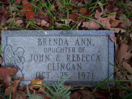 CLINGAN, BRENDA ANN - Ouachita County, Arkansas | BRENDA ANN CLINGAN - Arkansas Gravestone Photos