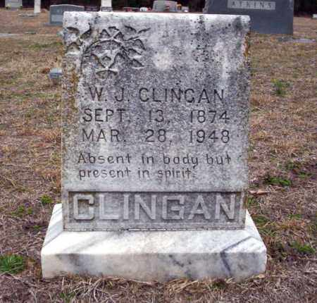 CLINGAN, WARREN JEFFERSON - Ouachita County, Arkansas | WARREN JEFFERSON CLINGAN - Arkansas Gravestone Photos