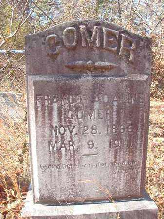 COMER, FRANCES ADALINE - Ouachita County, Arkansas | FRANCES ADALINE COMER - Arkansas Gravestone Photos