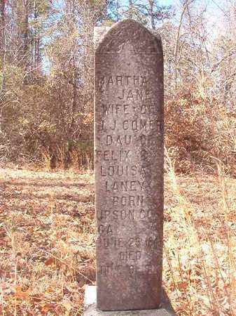 COMER, MARTHA JANE - Ouachita County, Arkansas | MARTHA JANE COMER - Arkansas Gravestone Photos