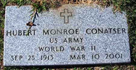 CONATSER (VETERAN WWII), HUBERT MONROE - Ouachita County, Arkansas | HUBERT MONROE CONATSER (VETERAN WWII) - Arkansas Gravestone Photos