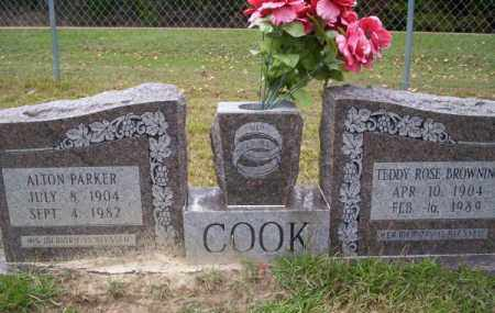 BROWNING COOK, TEDDY ROSE - Ouachita County, Arkansas | TEDDY ROSE BROWNING COOK - Arkansas Gravestone Photos