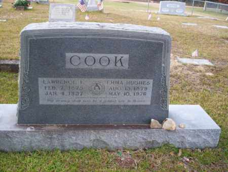 HUGHES COOK, EMMA - Ouachita County, Arkansas | EMMA HUGHES COOK - Arkansas Gravestone Photos