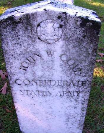 COVE (VETERAN CSA), JOHN W - Ouachita County, Arkansas | JOHN W COVE (VETERAN CSA) - Arkansas Gravestone Photos
