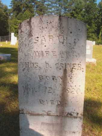 CRINER, SARAH - Ouachita County, Arkansas | SARAH CRINER - Arkansas Gravestone Photos