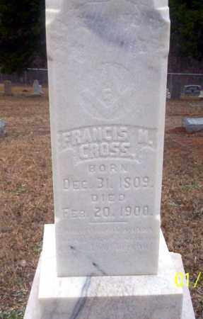CROSS, FRANCIS M - Ouachita County, Arkansas | FRANCIS M CROSS - Arkansas Gravestone Photos