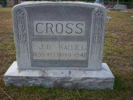 CROSS, SALLIE L - Ouachita County, Arkansas | SALLIE L CROSS - Arkansas Gravestone Photos