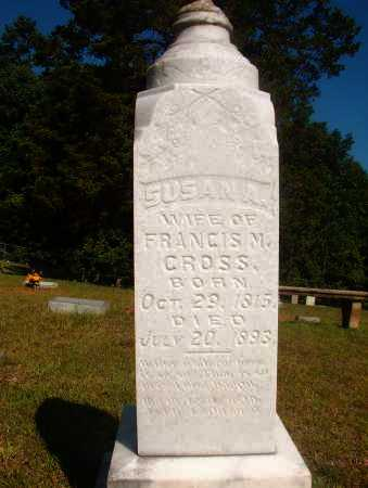 CROSS, SUSAN A - Ouachita County, Arkansas | SUSAN A CROSS - Arkansas Gravestone Photos