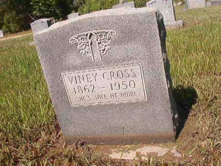 CROSS, VINEY - Ouachita County, Arkansas | VINEY CROSS - Arkansas Gravestone Photos