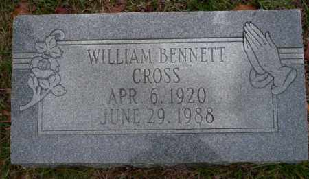 CROSS, WILLIAM BENNETT - Ouachita County, Arkansas | WILLIAM BENNETT CROSS - Arkansas Gravestone Photos