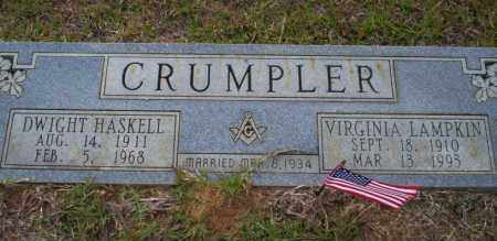 CRUMPLER, VIRGINIA - Ouachita County, Arkansas | VIRGINIA CRUMPLER - Arkansas Gravestone Photos
