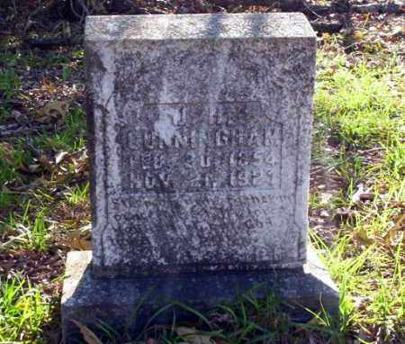 CUNNINGHAM, J.H. - Ouachita County, Arkansas | J.H. CUNNINGHAM - Arkansas Gravestone Photos