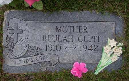CUPIT, BEULAH - Ouachita County, Arkansas | BEULAH CUPIT - Arkansas Gravestone Photos