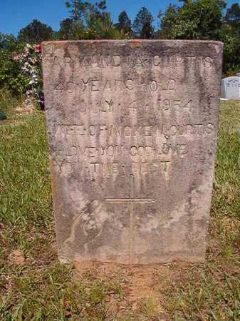 CURTIS, ARMANDIA - Ouachita County, Arkansas | ARMANDIA CURTIS - Arkansas Gravestone Photos