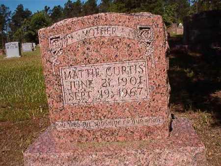 CURTIS, MATTIE - Ouachita County, Arkansas | MATTIE CURTIS - Arkansas Gravestone Photos