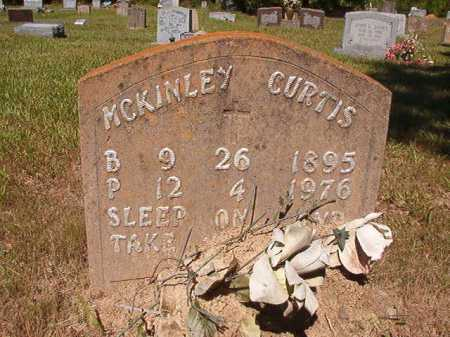 CURTIS, MCKINLEY - Ouachita County, Arkansas | MCKINLEY CURTIS - Arkansas Gravestone Photos