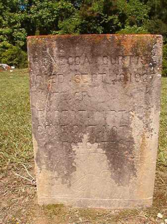 CURTIS, REBECCA - Ouachita County, Arkansas | REBECCA CURTIS - Arkansas Gravestone Photos