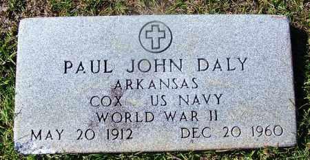 DALY (VETERAN WWII), PAUL JOHN - Ouachita County, Arkansas | PAUL JOHN DALY (VETERAN WWII) - Arkansas Gravestone Photos