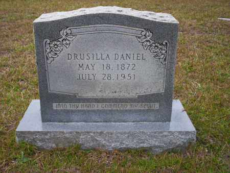 DANIEL, DRUSILLA - Ouachita County, Arkansas | DRUSILLA DANIEL - Arkansas Gravestone Photos