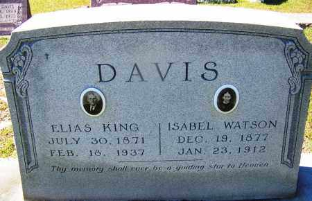WATSON DAVIS, ISABEL - Ouachita County, Arkansas | ISABEL WATSON DAVIS - Arkansas Gravestone Photos