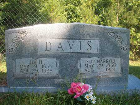HARROD DAVIS, SUE - Ouachita County, Arkansas | SUE HARROD DAVIS - Arkansas Gravestone Photos