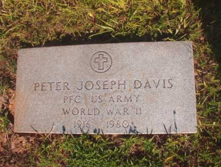 DAVIS (VETERAN WWII), PETER JOSEPH - Ouachita County, Arkansas | PETER JOSEPH DAVIS (VETERAN WWII) - Arkansas Gravestone Photos
