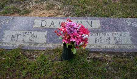 NIX DAWSON, DOVIE FRANCES - Ouachita County, Arkansas | DOVIE FRANCES NIX DAWSON - Arkansas Gravestone Photos