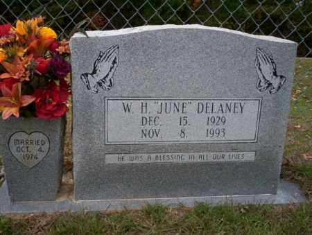 "DELANEY, W.H. ""JUNE"" - Ouachita County, Arkansas 