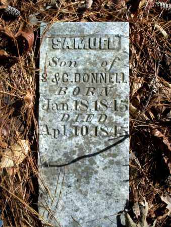 DONNELL, SAMUEL - Ouachita County, Arkansas | SAMUEL DONNELL - Arkansas Gravestone Photos