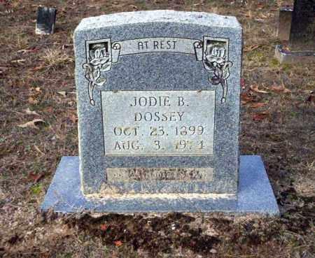 DOSSEY, JODIE B - Ouachita County, Arkansas | JODIE B DOSSEY - Arkansas Gravestone Photos
