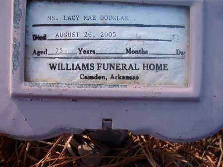 DOUGLAS, LACY MAE - Ouachita County, Arkansas   LACY MAE DOUGLAS - Arkansas Gravestone Photos