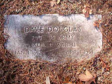 DOUGLAS (VETERAN WWII), DAVE - Ouachita County, Arkansas | DAVE DOUGLAS (VETERAN WWII) - Arkansas Gravestone Photos