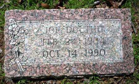 DOUTHIT, JOE - Ouachita County, Arkansas   JOE DOUTHIT - Arkansas Gravestone Photos