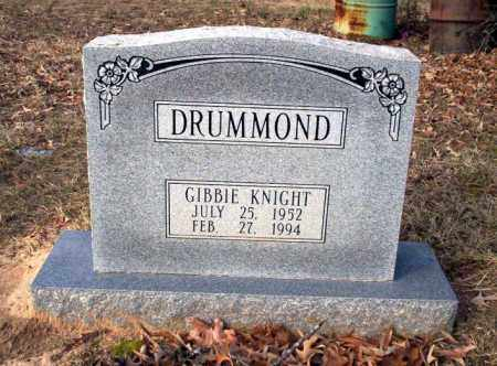 DRUMMOND, GIBBIE - Ouachita County, Arkansas | GIBBIE DRUMMOND - Arkansas Gravestone Photos