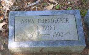 DUMONT, ANNA - Ouachita County, Arkansas | ANNA DUMONT - Arkansas Gravestone Photos