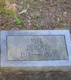 DUMONT, MIKE - Ouachita County, Arkansas | MIKE DUMONT - Arkansas Gravestone Photos
