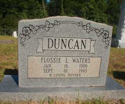 DUNCAN, FLOSSIE L - Ouachita County, Arkansas | FLOSSIE L DUNCAN - Arkansas Gravestone Photos