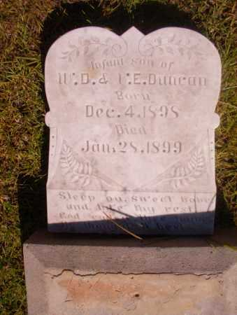 DUNCAN, INFANT SON - Ouachita County, Arkansas | INFANT SON DUNCAN - Arkansas Gravestone Photos
