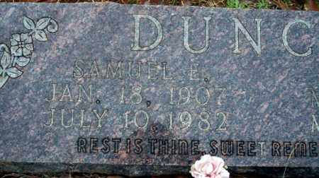 DUNCAN, SAMUEL E - Ouachita County, Arkansas | SAMUEL E DUNCAN - Arkansas Gravestone Photos