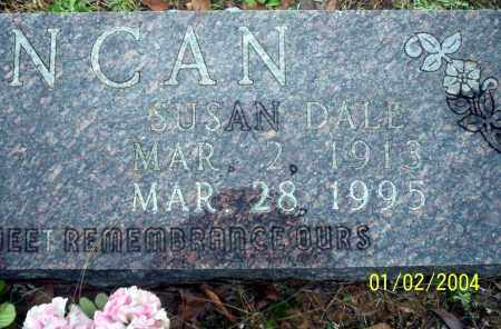 DALE DUNCAN, SUSAN - Ouachita County, Arkansas | SUSAN DALE DUNCAN - Arkansas Gravestone Photos
