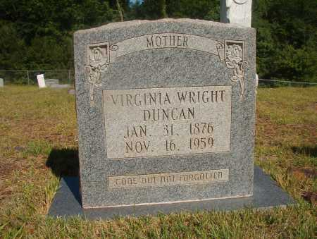 DUNCAN, VIRGINIA - Ouachita County, Arkansas | VIRGINIA DUNCAN - Arkansas Gravestone Photos