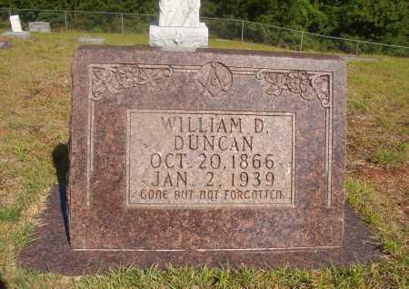 DUNCAN, WILLIAM D - Ouachita County, Arkansas | WILLIAM D DUNCAN - Arkansas Gravestone Photos