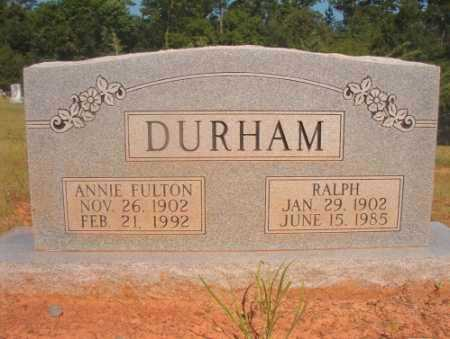 DURHAM, RALPH - Ouachita County, Arkansas | RALPH DURHAM - Arkansas Gravestone Photos