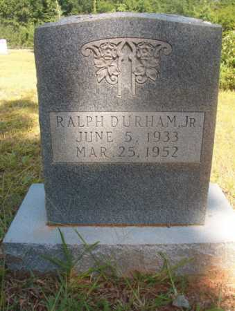DURHAM, JR, RALPH - Ouachita County, Arkansas | RALPH DURHAM, JR - Arkansas Gravestone Photos
